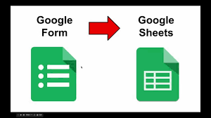 google forms to sheets
