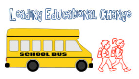 bus and kids leading change